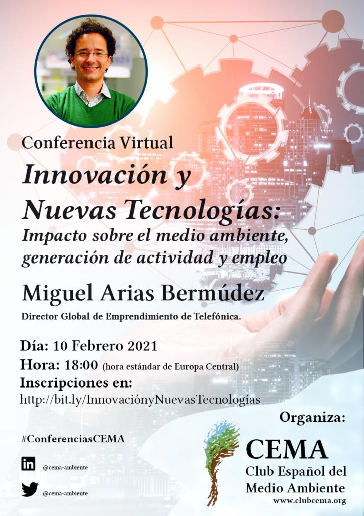 Conferencia Innovación y Nuevas Tecnologías